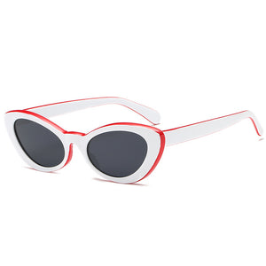 The Terrestrial Sunglasses White Red Sunglasses White Red   - Super Cool Supply Store