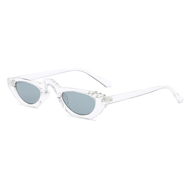The Peri Sunglasses Clear Sunglasses Clear   - Super Cool Supply Store