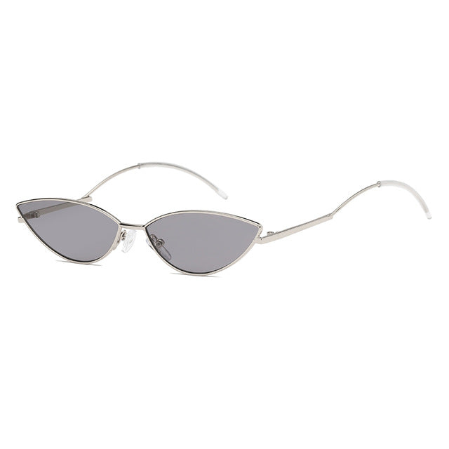 The Imprint Sunglasses Silver Frame Black Lens Sunglasses Silver Frame Black Lens   - Super Cool Supply Store