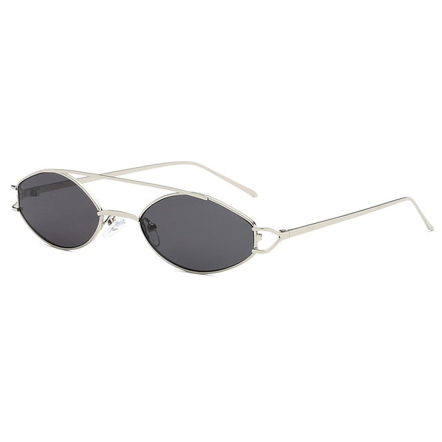 The Beam Sunglasses Silver Frame Black Lens Sunglasses Silver Frame Black Lens   - Super Cool Supply Store