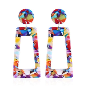The Evermore Archway Earrings Rainbow Earrings Rainbow   - Super Cool Supply Store