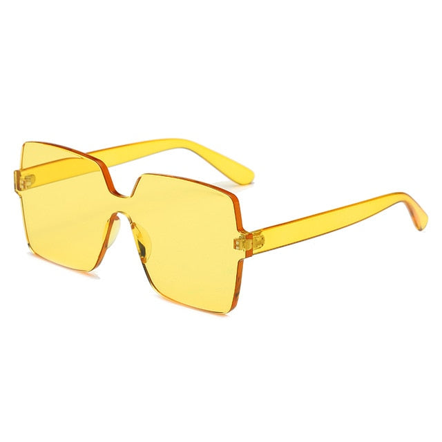 The Vegas Sunglasses Yellow Sunglasses Yellow   - Super Cool Supply Store