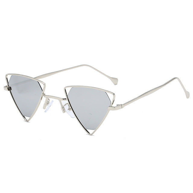The Tristar Sunglasses Silver Sunglasses Silver   - Super Cool Supply Store