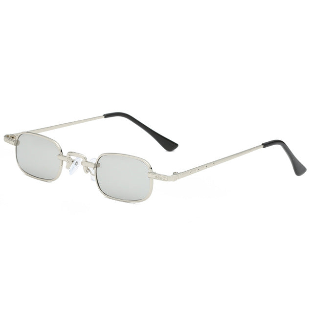 The Cyber Sunglasses Silver Sunglasses Silver   - Super Cool Supply Store