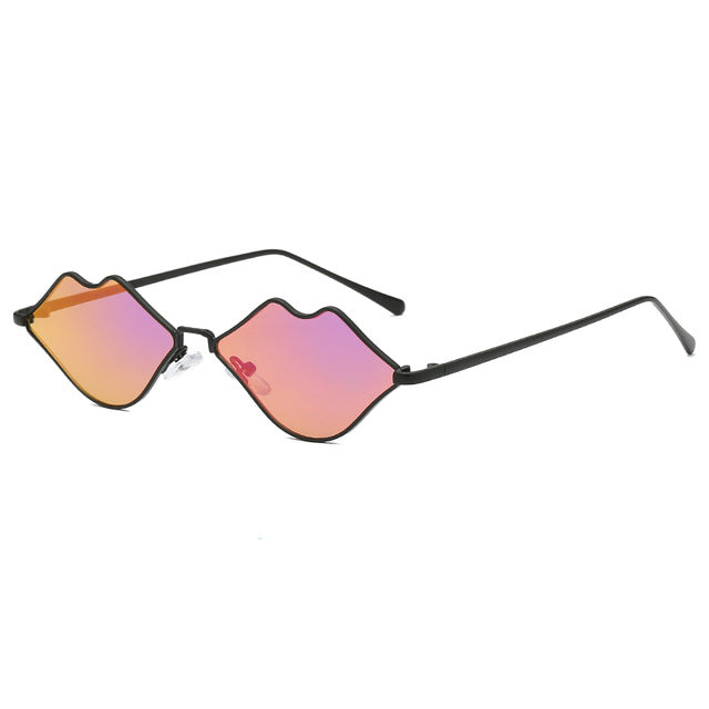 The Kiss Kiss Sunglasses Purple Sunglasses Purple   - Super Cool Supply Store