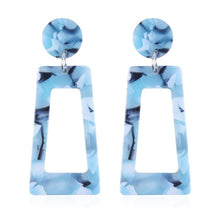 Load image into Gallery viewer, The Evermore Archway Earrings Light Blue Earrings Light Blue   - Super Cool Supply Store