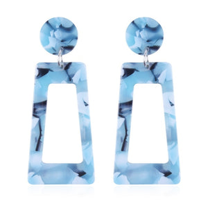 The Evermore Archway Earrings Light Blue Earrings Light Blue   - Super Cool Supply Store