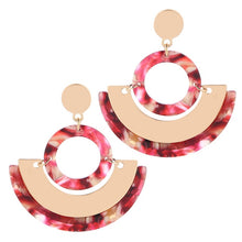 The Secret Signs Earrings Red Earrings Red   - Super Cool Supply Store
