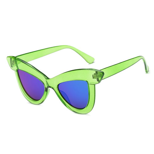 The Epica Singlasses Green Sunglasses Green   - Super Cool Supply Store