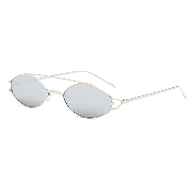 The Beam Sunglasses Silver Frame Silver Lens Sunglasses Silver Frame Silver Lens   - Super Cool Supply Store