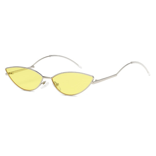 The Imprint Sunglasses Silver Frame Yellow Lens Sunglasses Silver Frame Yellow Lens   - Super Cool Supply Store