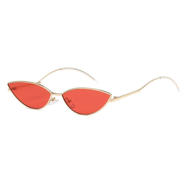 The Imprint Sunglasses Gold Frame Red Lens Sunglasses Gold Frame Red Lens   - Super Cool Supply Store