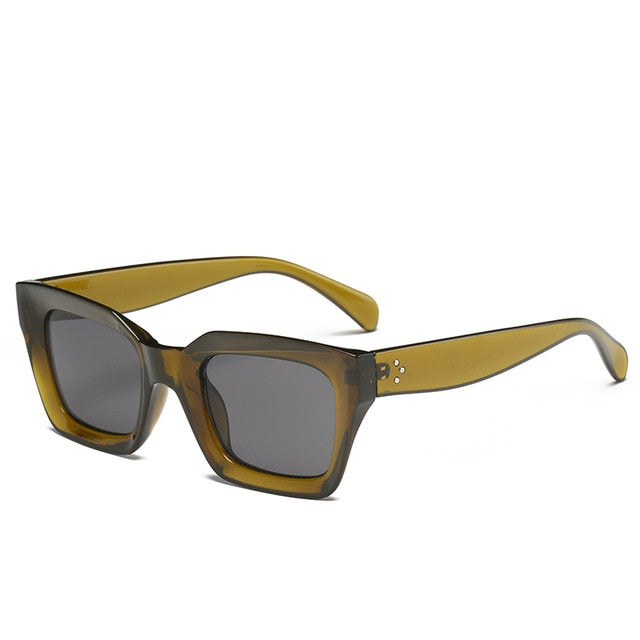 The Oblong Sunglasses Green Frame Sunglasses Green Frame   - Super Cool Supply Store