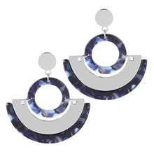The Secret Signs Earrings Blue Earrings Blue   - Super Cool Supply Store