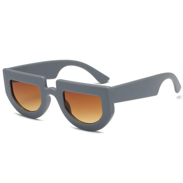The Halfer Sunglasses Grey Frame Sunglasses Grey Frame   - Super Cool Supply Store