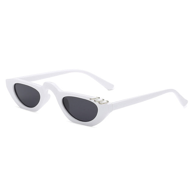 The Peri Sunglasses White Sunglasses White   - Super Cool Supply Store