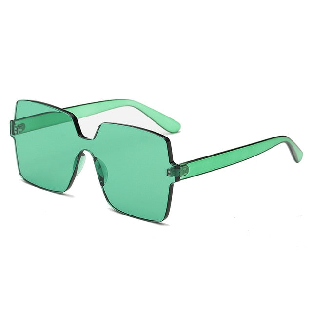 The Vegas Sunglasses Green Sunglasses Green   - Super Cool Supply Store