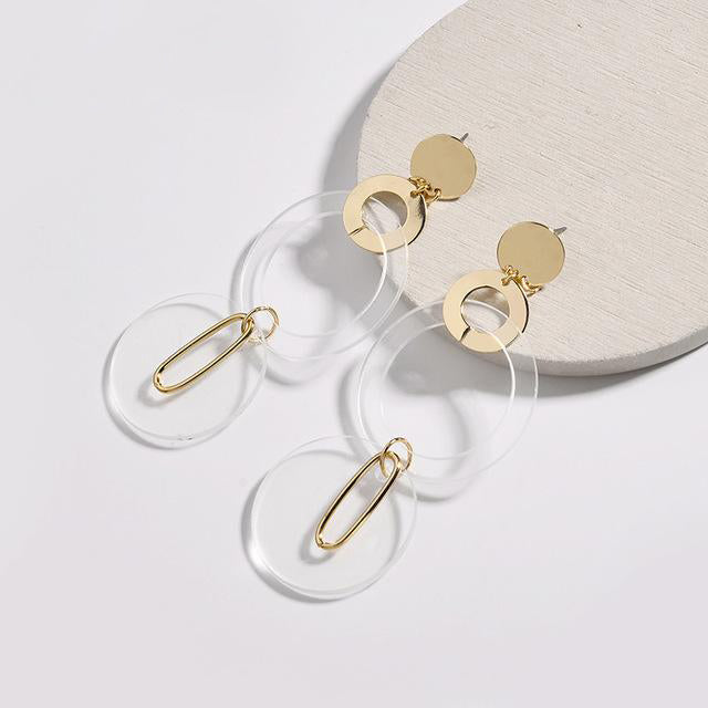 The Audette Earrings Gold Earrings Gold   - Super Cool Supply Store