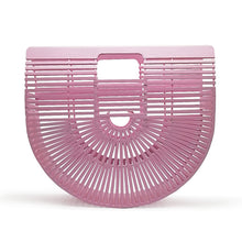 The Madonna Bamboo Bag Pink Bags Pink   - Super Cool Supply Store