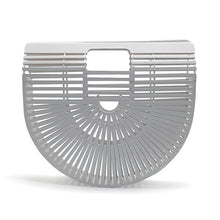 The Madonna Bamboo Bag White Bags White   - Super Cool Supply Store