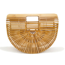 The Madonna Bamboo Bag Wood Bags Wood   - Super Cool Supply Store
