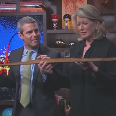 Andy Cohen Martha Shotski