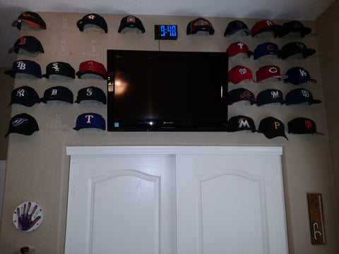 "Baseball Cap Collection - Kent RIckels.  He noted ""...they worked perfectly, as advertised."""