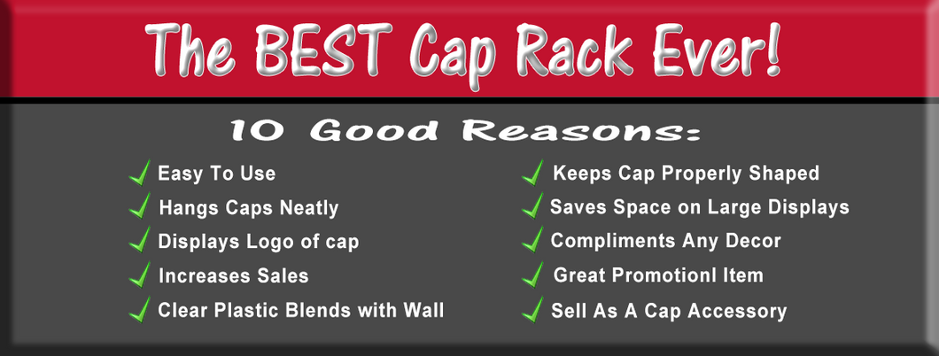 Best Cap Rack Ever - 10 Good Reasons!