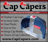 CAP CAPERS - All-Star Advanced Set - baseball cap rack display, organizer and storage