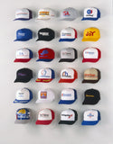 CAP CAPERS - Rookie Starter Set (6 Pcs.) - baseball cap rack display, organizer and storage