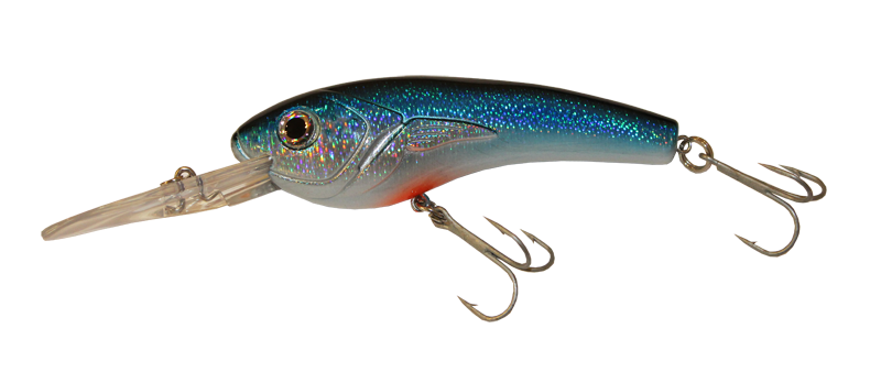 Alosa Major - Disco Blue Crankbait