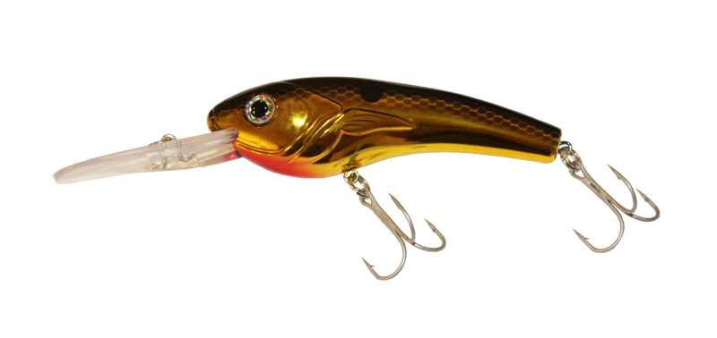 Alosa Major - Gold Chrome Crankbait
