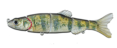 Aqua Relic Minnow Perch Swimbait