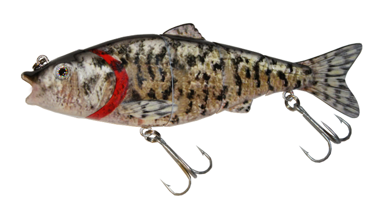 Aqua Relic Fatty - White Crappie Swimbait