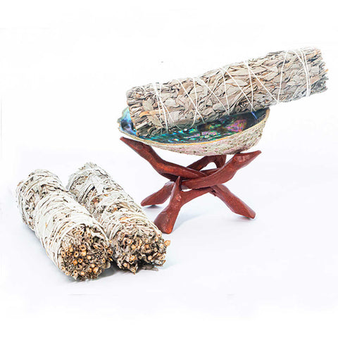 What to say when smudging your home