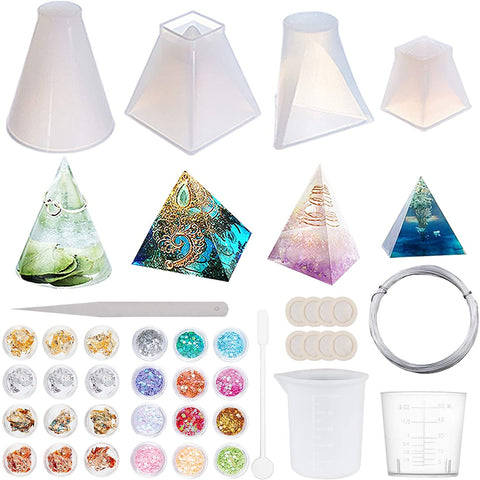 molds for orgonite pyramids