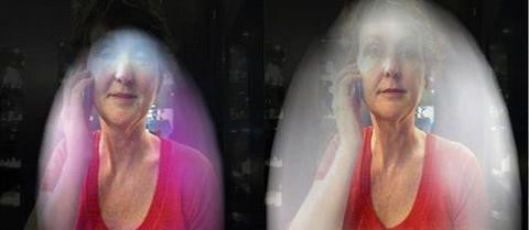 Kirlian Photography Of Before And After Usage Phone Radiation Shields