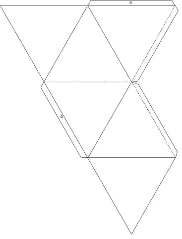 how to make star tetrahedron