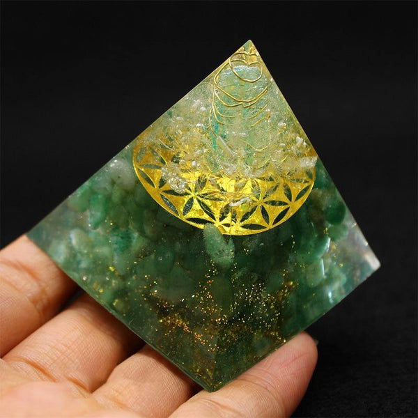 Authentic Orgonite Pyramids - Orgone Energy Australia
