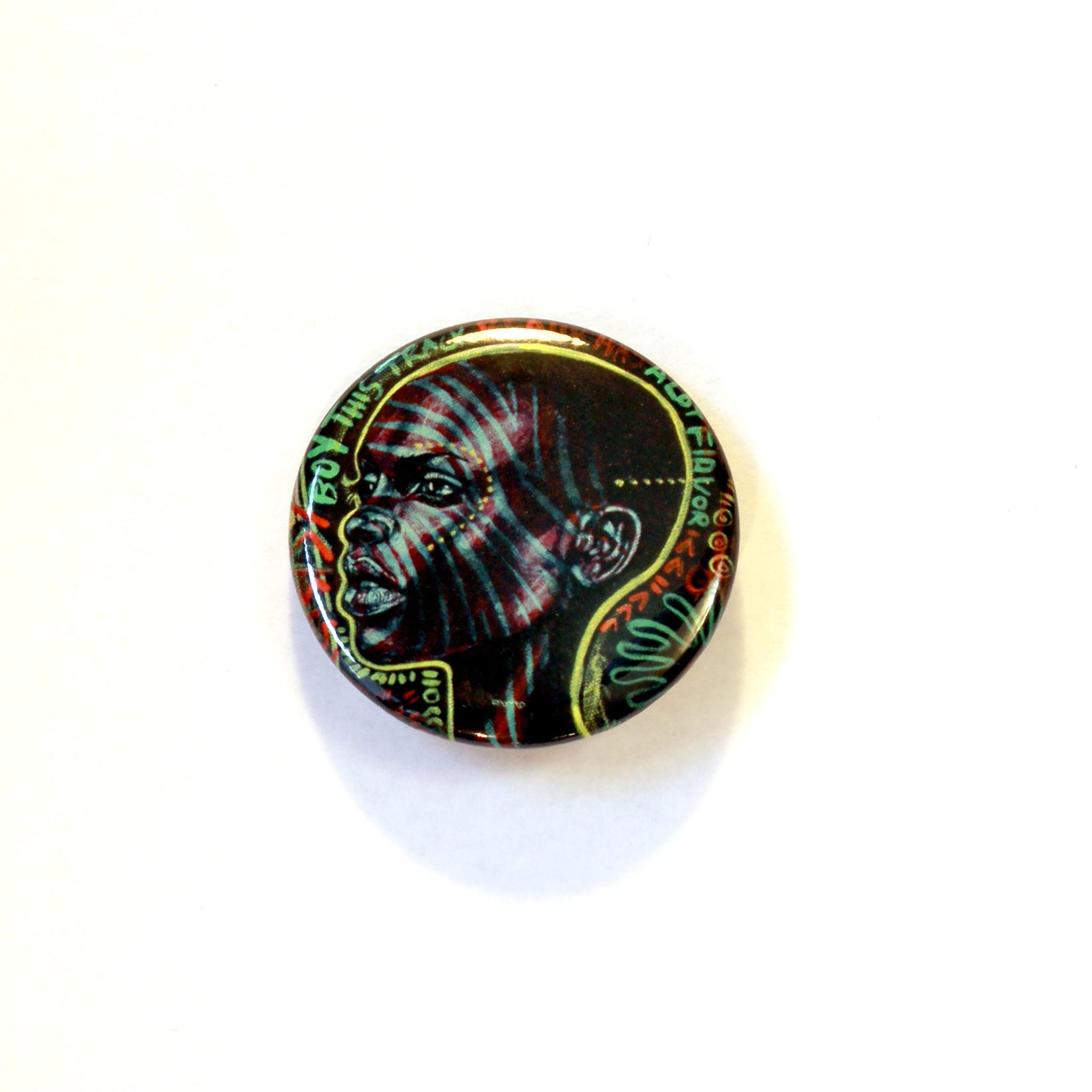"""Serge Pin Button"" 4 Set"