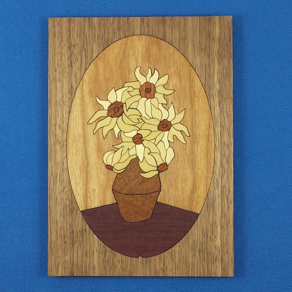 "Wood Craft Kit - 5""x 7"" Sunflower"