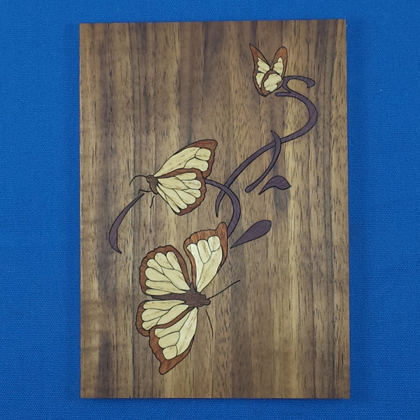 "Wood Craft Kit - 5""x 7"" Butterflies"