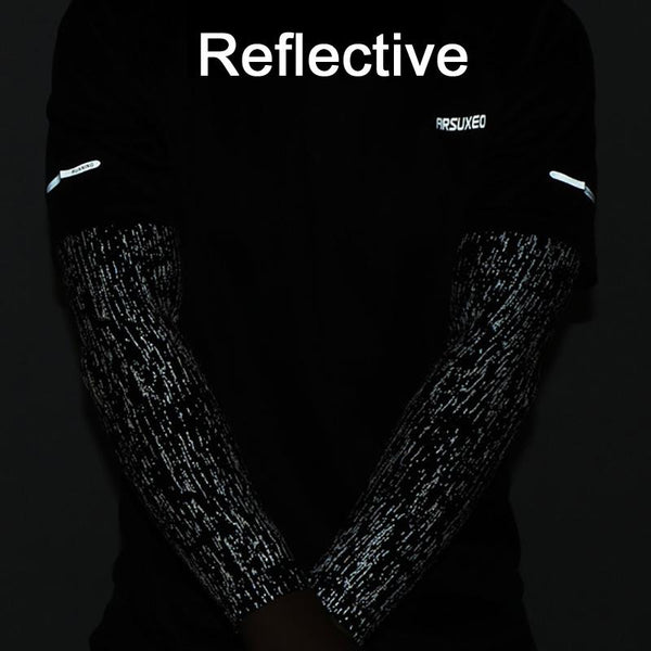Reflective Arm Sleeves Pair (2 x Arms)