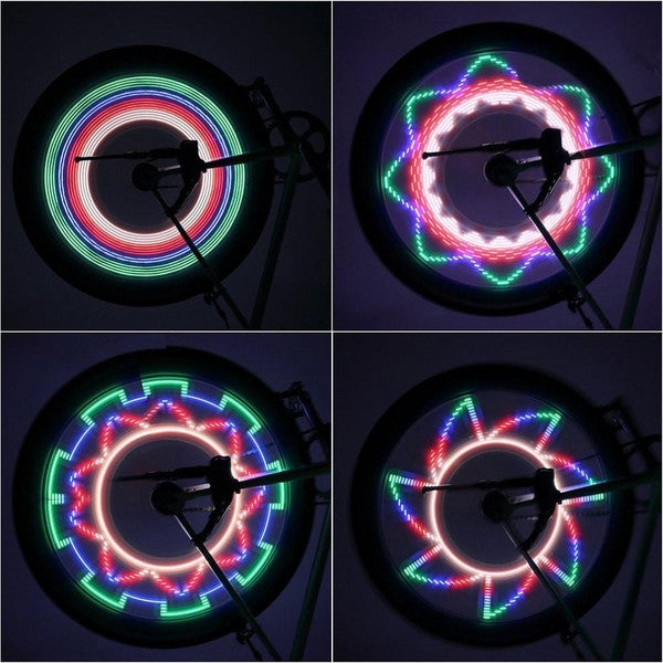 Colorful Pattern LED Bike Wheel Lights