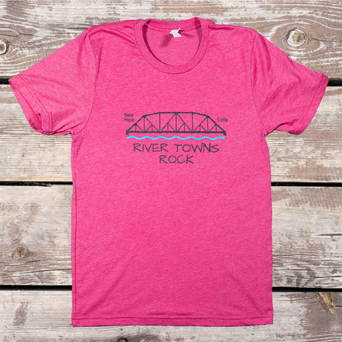 Bridge - Unisex Short Sleeve Jersey Tee