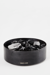 Flat Pot Pourri Obsidienne + Darkwood Oil