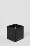 Black Bloc Petite Candle - Black Uduu