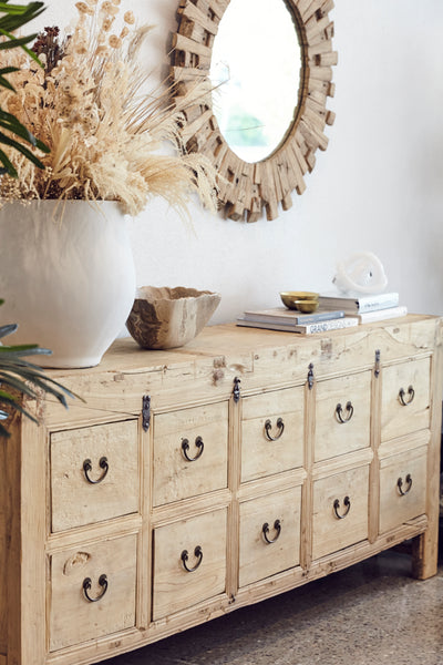 10 Drawer Sideboard Swing Handle