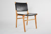 Leather Flat Dining Chair