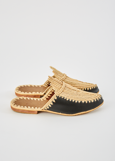 Capri Leather Slide